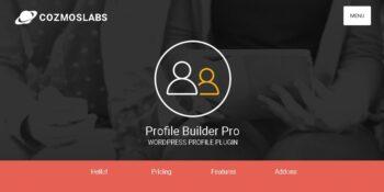 Profile Builder Pro + Addons Pack
