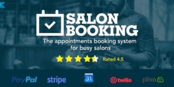 Salon Booking - Wordpress Plugin
