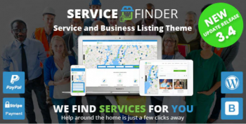 Service Finder - Provider and Business Listing Theme