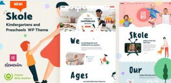 Skole - School Kindergarten WordPress Elementor