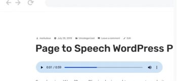 Speaker - Page to Speech Plugin for WordPress