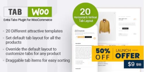 TabWoo- Custom Product Tabs for WooCommerce