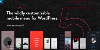 TapTap - A Super Customizable WordPress Mobile Menu