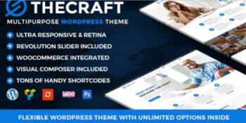 TheCraft - Responsive Multipurpose WordPress Theme