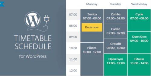 Timetable Responsive Schedule