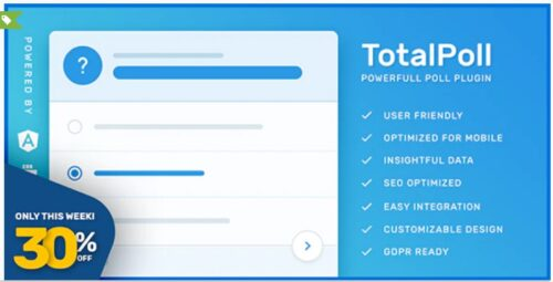 TotalPoll Pro - WordPress Poll Plugin