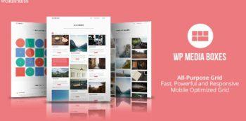 WP Media Boxes Portfolio