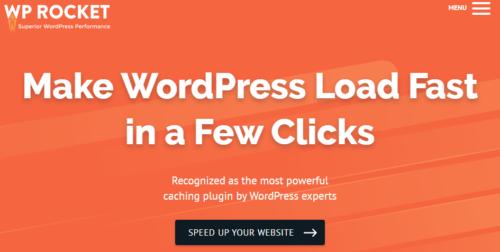 WP Rocket WordPress Cache Plugin