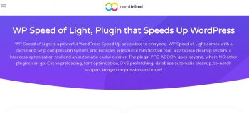 WP Speed of Light – Speed Up WordPress Pro