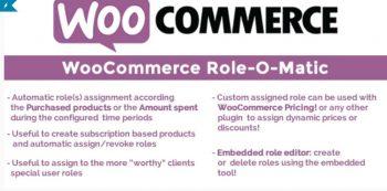 WooCommerce Role-O-Matic