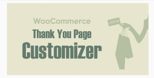 WooCommerce Thank You Page Customizer