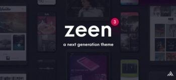Zeen - Next Generation Magazine WordPress