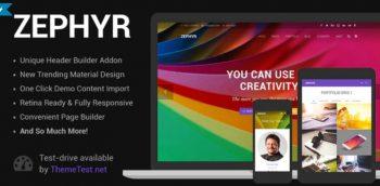 Zephyr - Material Design Theme