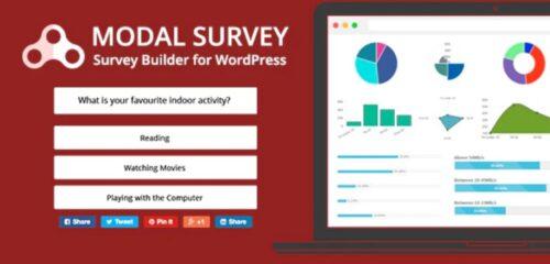 Modal Survey - Poll, Survey & Quiz Plugin