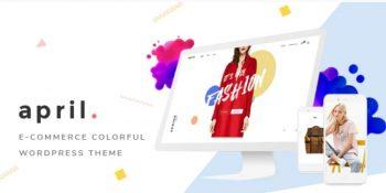 APRIL- Wonderful Fashion WooCommerce WordPress Theme