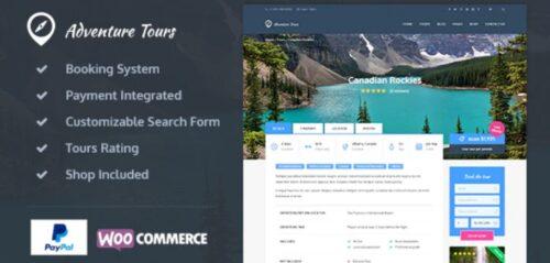 Adventure Tours - WordPress Tour/Travel Theme