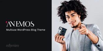 Anemos - A Multiuse Blogging WordPress Theme