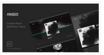 Angio - Creative Music Theme