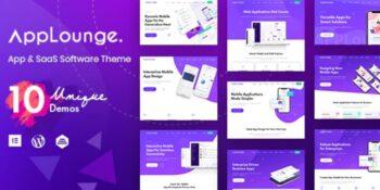 AppLounge - Multipurpose SaaS WordPress Theme