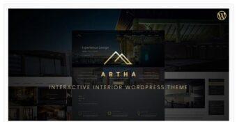 Artha - Interactive Interior WordPress Theme