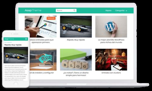 Asap Theme – La mejor plantilla WordPress para nichos SEO
