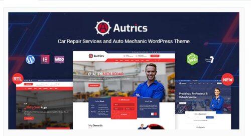 Autrics - Car Services and Auto Mechanic WordPress Theme