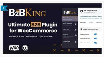 B2BKing - The Ultimate WooCommerce B2B & Wholesale Plugin