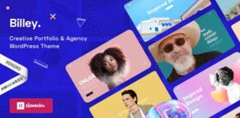 Billey - Creative Portfolio & Agency WordPress Theme