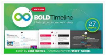 Bold Timeline - WordPress Timeline Plugin