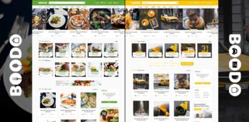 Boodo WP v- Food and Magazine Shop WordPress Theme