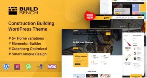 Buildbench Construction Building WordPress Theme