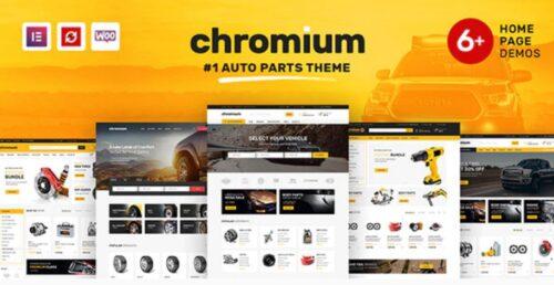 Chromium - Auto Parts Shop WordPress Theme