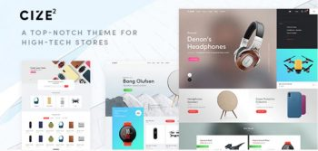 Cize - A Top Notch Theme For High Tech Stores (RTL Supported)