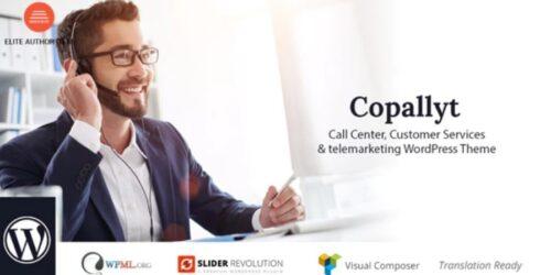 Copallyt- Call Center & Telemarketing WordPress Theme