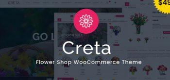 Creta v5.0 - Flower Shop WooCommerce WordPress Theme