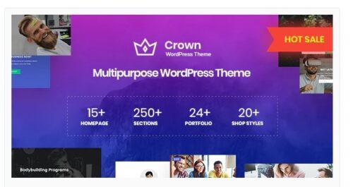 Crown - Multi Purpose WordPress Theme