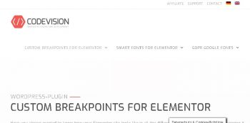 Custom Mobile Breakpoints for Elementor