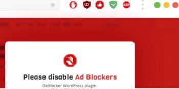 DeBlocker - Anti AdBlock for WordPress