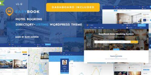 EasyBook - Directory & Listing WordPress Theme