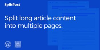 Epic Split Post - Post Content Splitter as Slider