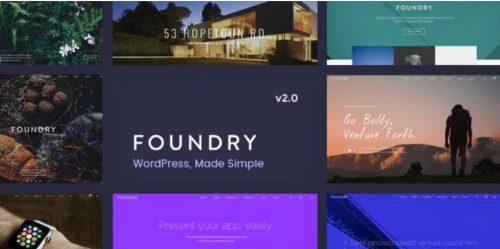 Foundry - Multipurpose, Multi-Concept WP Theme