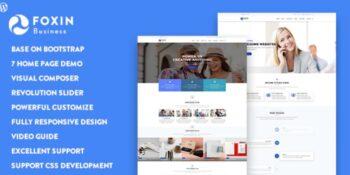 Foxin - Responsive Business WordPress Theme