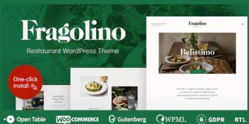 Fragolino - an Exquisite Restaurant WordPress Theme