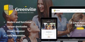 Greenville - A Private School WordPress Theme