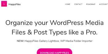 Happy Files Pro - Organize Your WordPress Media Files