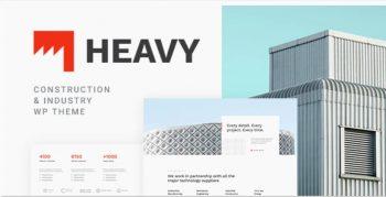 Heavy - Industrial WordPress Theme