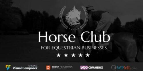 Horse Club - Equestrian WordPress Theme