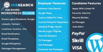 JobSearch - WP Job Board WordPress Plugin