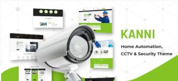 Kanni - Home Automation, CCTV Security Theme