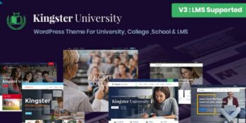 Kingster- Education WordPress For University, College and School